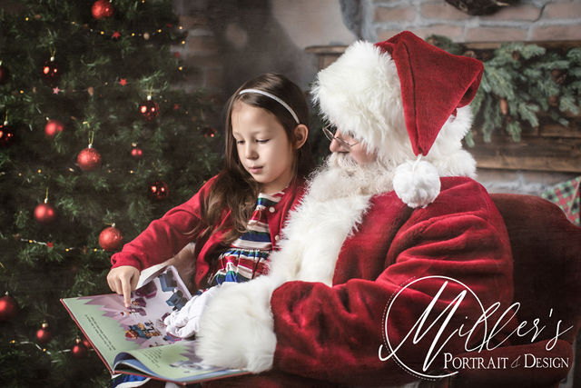 Santa Portraits at Miller