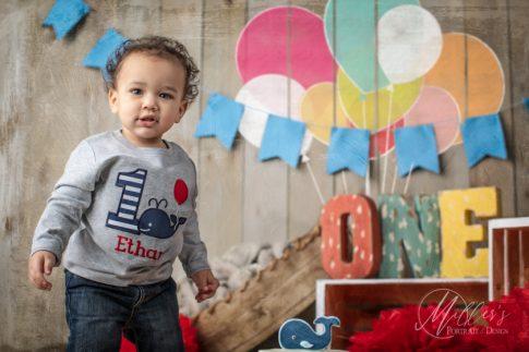 Balloon Chalk on Plank