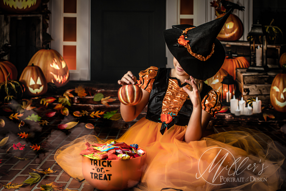 Halloween Portrait Keepsakes