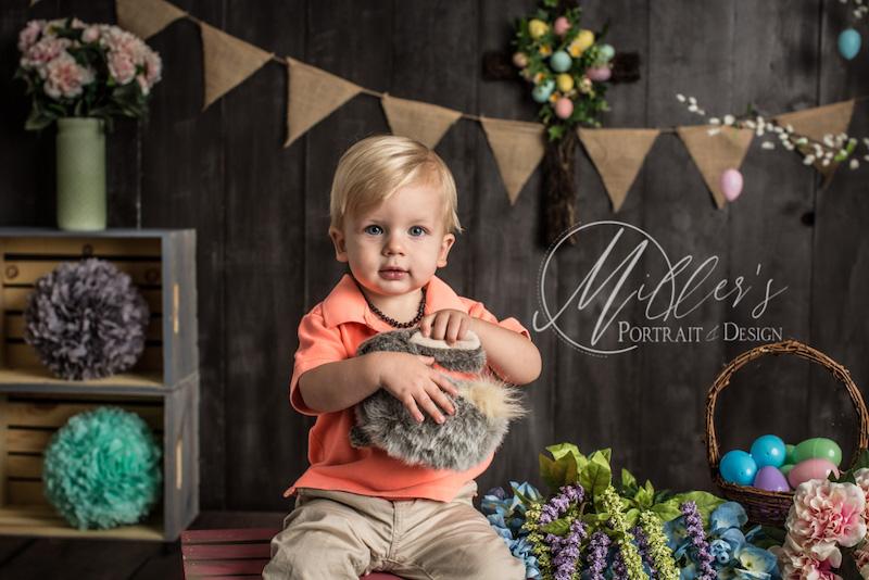 Toddler Easter Portrait