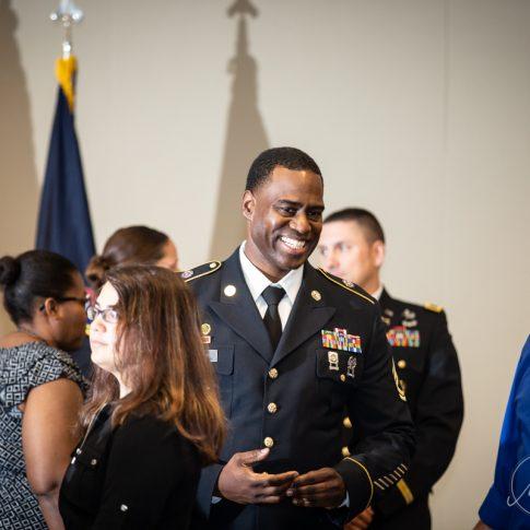 Military Retirement Ceremony Photography