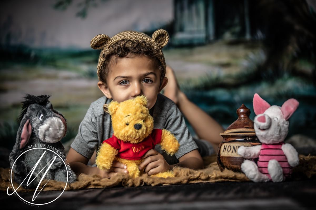 Winnie The Pooh Portraits