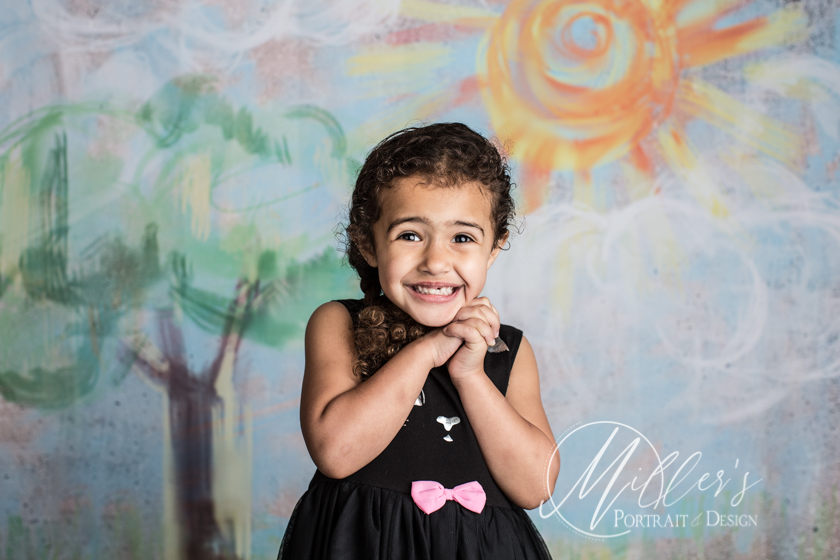 Daycare Portraits for Back To School