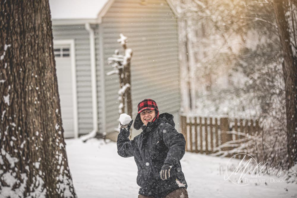 Snow Day Portraits